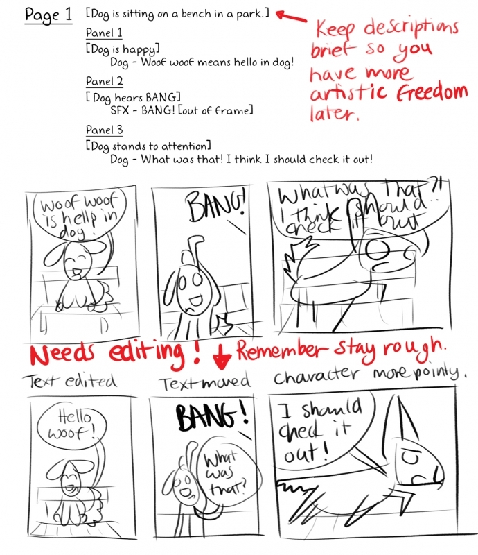 Comic Basics - 11 - Storyboarding