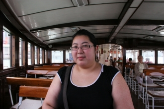 Me on Star Ferry