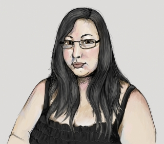 Digital Paint Self Portrait (2010)