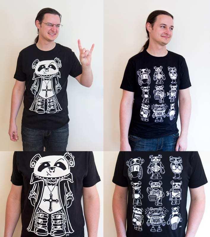 Win a Panda t-shirt (2014)